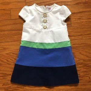 5/$25 Gymboree Colorblock Dress